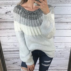 Maurices Sweaters - Maurice's Grey Soft Chunky Knit Wool Sweater
